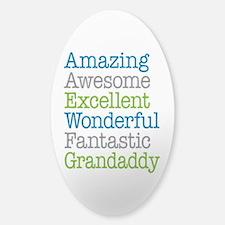 Grandaddy -Amazing Fantastic Sticker (Oval)