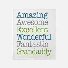 Grandaddy -Amazing Fantastic Throw Blanket