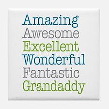 Grandaddy -Amazing Fantastic Tile Coaster