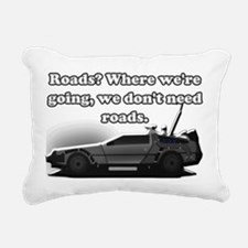 Back To The Future Rectangular Canvas Pillow