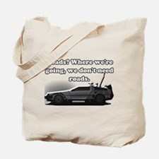 Back To The Future Tote Bag