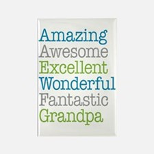 Grandpa - Amazing Fantastic Rectangle Magnet