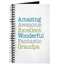 Grandpa - Amazing Fantastic Journal