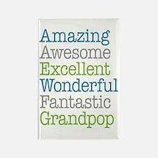 Grandpop - Amazing Fantastic Rectangle Magnet