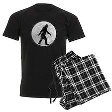 Bigfoot Moon Pajamas