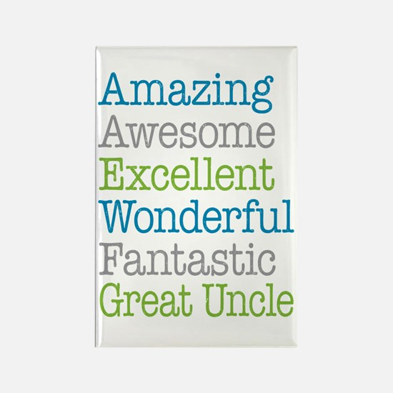 Great Uncle - Amazing Fantastic Rectangle Magnet