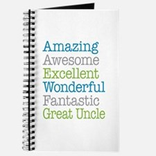 Great Uncle - Amazing Fantastic Journal