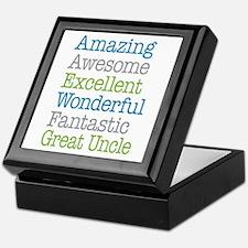 Great Uncle - Amazing Fantastic Keepsake Box