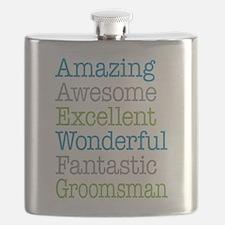 Groomsman - Amazing Fantastic Flask