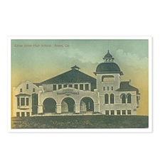 Eight (8) Citrus Union High School Postcards
