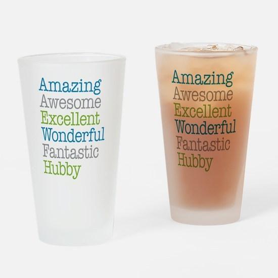 Hubby - Amazing Fantastic Drinking Glass