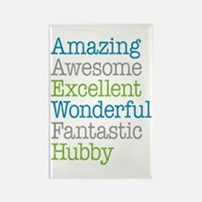Hubby - Amazing Fantastic Rectangle Magnet
