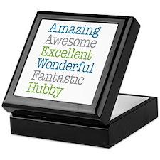Hubby - Amazing Fantastic Keepsake Box