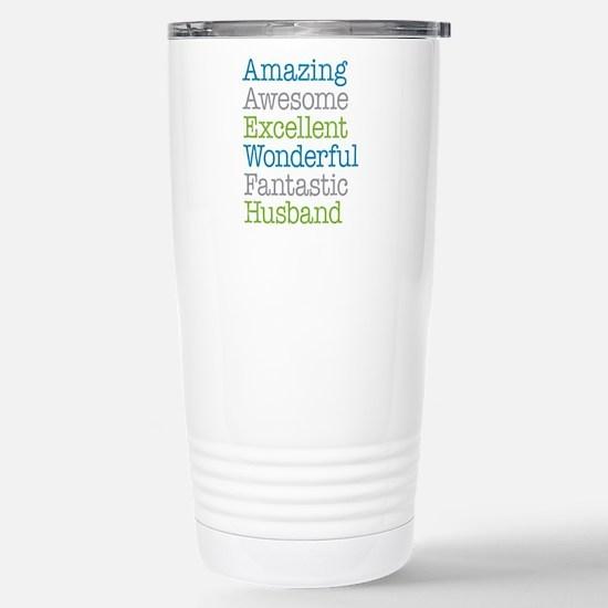 Husband - Amazing Fanta Stainless Steel Travel Mug