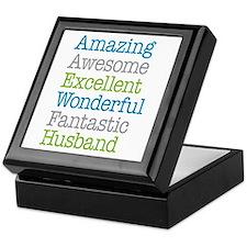 Husband - Amazing Fantastic Keepsake Box
