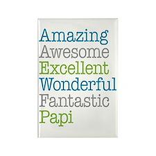 Papi - Amazing Fantastic Rectangle Magnet