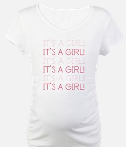 Pink It's a Girl Shirt
