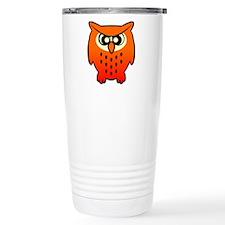 Funny Owl Travel Mug