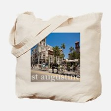 downtown st augusitne Tote Bag