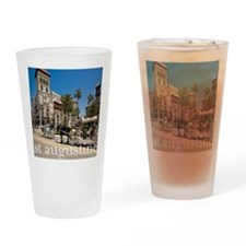 downtown st augusitne Drinking Glass