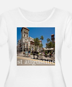 downtown st augusitne Plus Size T-Shirt