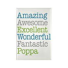 Poppa - Amazing Fantastic Rectangle Magnet