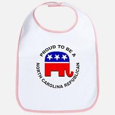 Proud North Carolina Republican Bib