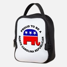 Proud North Carolina Republican Neoprene Lunch Bag