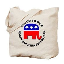 Proud North Carolina Republican Tote Bag