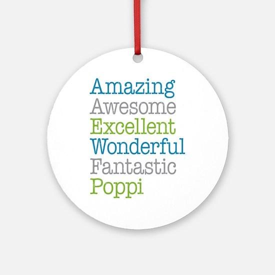 Poppi - Amazing Fantastic Ornament (Round)