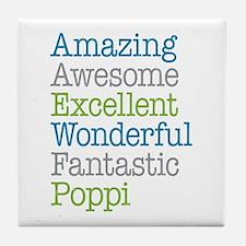 Poppi - Amazing Fantastic Tile Coaster
