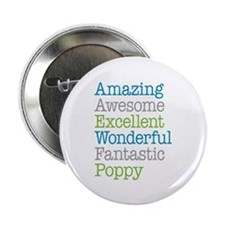 """Poppy - Amazing Fantastic 2.25"""" Button (100 pack)"""