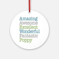 Poppy - Amazing Fantastic Ornament (Round)