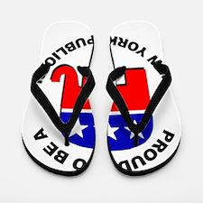 Proud New York Republican Flip Flops
