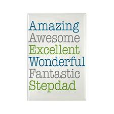 Stepdad - Amazing Fantastic Rectangle Magnet