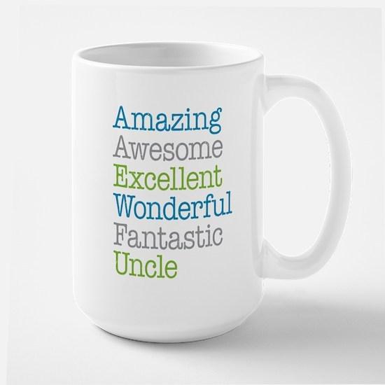 Uncle - Amazing Fantastic Large Mug