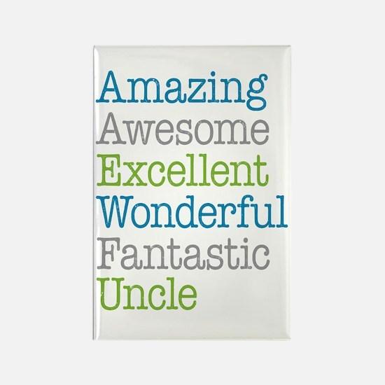 Uncle - Amazing Fantastic Rectangle Magnet