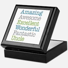 Uncle - Amazing Fantastic Keepsake Box