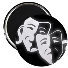 "Cute Drama comedy 2.25"" Magnet (10 pack)"
