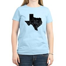 Distressed Texas Silhouette T-Shirt