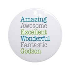 Godson - Amazing Fantastic Ornament (Round)