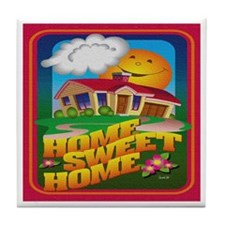 HOME, SWEET HOME Tile Coaster