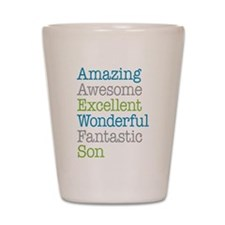 Son - Amazing Fantastic Shot Glass