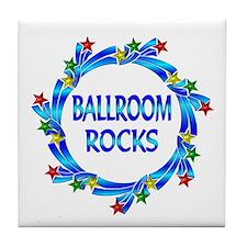 Ballroom Rocks Tile Coaster