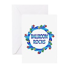 Ballroom Rocks Greeting Cards (Pk of 20)