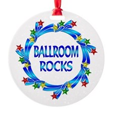 Ballroom Rocks Ornament
