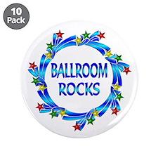 """Ballroom Rocks 3.5"""" Button (10 pack)"""