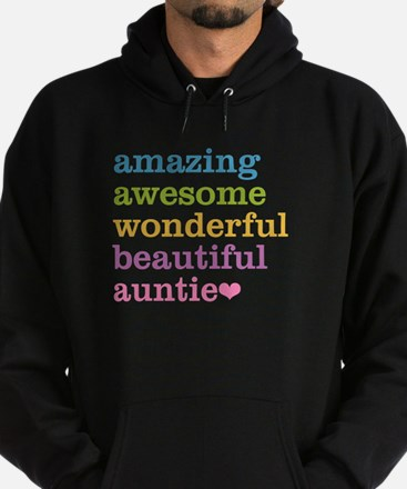Auntie - Amazing Awesome Hoodie (dark)