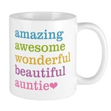 Auntie - Amazing Awesome Mug