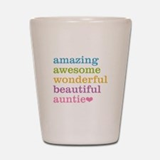 Auntie - Amazing Awesome Shot Glass